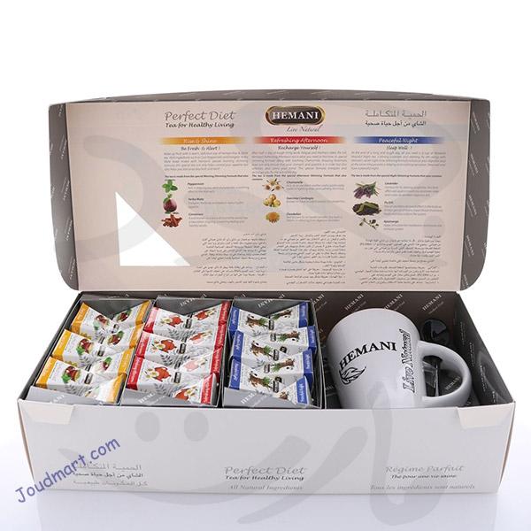 شاي الحمية المتكاملة